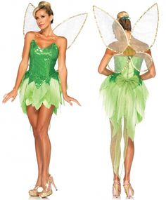 Just Imagine Costumes - Deluxe Tinkerbelle Costume - Adult, $130.00 (http://www.justimaginecostumes.com/deluxe-tinkerbelle-costume-adult/)
