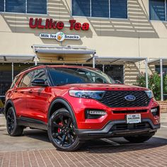 Ready for an adventurous weekend? Don't forget your Boba Tea! Visit ULIKE TEA McAllen in your all new 2021 Ford Explorer ST! Remember Hacienda Has It! Ready for your next vehicle? Contact us today! 📞 (956) 467-4629 💻 www.haciendaford.com 📍 3010 W University Dr, Edinburg, TX #HaciendaHasIt #HaciendaFord #bobatea #RGVcars #RGVtrucks #smallbusiness #supportlocal #uliketeamcallen Best Family Cars, Tea Snacks, Used Ford, Ford Explorer, Milk Tea, Vehicles, Forget, University, Car