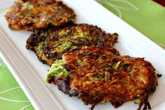 Zucchini Parmesan Fritters from Parsley In My Teeth Parmesan Recipes, Zucchini Parmesan, Great Recipes, Vegetarian Recipes, Cooking Recipes, Healthy Recipes, Delicious Recipes, Favorite Recipes, Veggetti Recipes