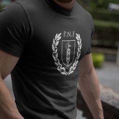 P.N.F. | Premium T-shirt #menefrego #boiachimolla Hoodies, Sweatshirts, Funny Tshirts, Store, Mens Tops, T Shirt, Supreme T Shirt, Tee Shirt, Larger