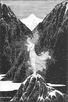 Ida Rentoul Outhwaite, The Fairy of the Snow, 1920s