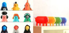 Para los forofos de los Toy Arts, de los juguetes y la ciencia ficción, del mundo Kawaii, del diseño gráfico e industrial, llegan los Toy Arts de Sticky Monster Lab