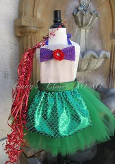 Inspired by the Little Mermaid  Princess by JennasClosetXOXOs, $55.00
