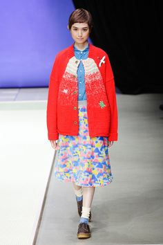 Kazuaki Takashima presented his Spring/Summer 2015 collection for Né-net, during Mercedes-Benz Fashion Week Tokyo.