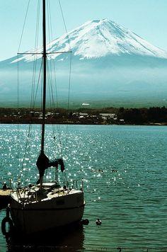 Fuji, Japan via Walking on Sunshine