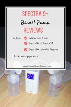 Spectra 9 Plus Breast Pump Reviews | Detailed Pros and Cons - Living with Low Milk Supply