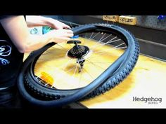 How to change a bike tire. I need to practice this!