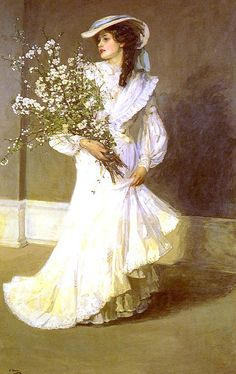Sir John Lavery, spring