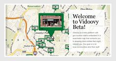 Here's a screen shot of the Beta version of our Vidoovy video map platform. We remember it like it was yesterday. And not it is getting so big! West Orange, NJ was our Beta-Tester and we have now upgraded the site considerably while adding Montclair, NJ as our second Vidoovy Community.  Our aim is to pull business traffic back to our client town's Main Street business Districts and small businesses in general.