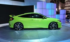 2016 Honda Civic Type R (Green)