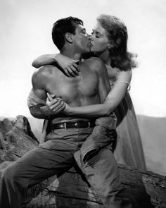 William Holden and Kim Novak, publicity still for Picnic (1955). One of my fave movies so I always reblog.