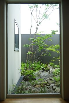 Indoor Gardens For Your Home Japanese Garden Backyard, Japanese Garden Style, Japan Garden, Japanese Landscape, Modern Small House Design, Modern Garden Design, Landscape Design, Indoor Gardening Supplies, Narrow Garden