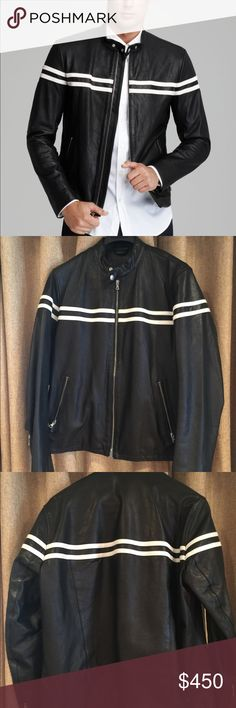 VINCE Men's Leather Jacket In excellent used condition. Only a handful of times. Leather is very soft. Vince Jackets & Coats