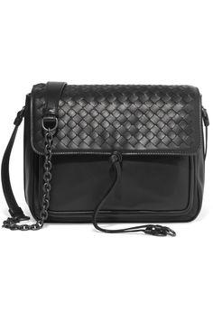 BOTTEGA VENETA Saddle small intrecciato leather shoulder bag   $2,150.00 https://www.net-a-porter.com/product/792399