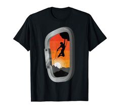 Vintage Rock, Retro Vintage, Climbing Carabiner, Rock Climbing, Sunset, Amazon, Mens Tops, T Shirt, Fashion