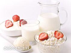 Tvarohová zmrzlina Russian Recipes, Baked Goods, Glass Of Milk, Raspberry, Ice Cream, Baking, Fruit, Sweet, Desserts