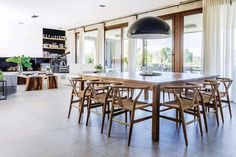 BDB Arquitectos - Casa FAL Zara Home, Living Comedor, Room Pictures, Toscana, Decoration, Showroom, Teak, Dining Room, Table