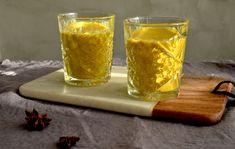 Kurkumamaito eli Golden Milk / Sweets by Sini Golden Milk, Smoothies, Beer, Sweets, Mugs, Drinks, Tableware, Smoothie, Root Beer