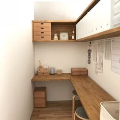 Home Office Design Layout Home Office Design, Home Office Decor, Office Furniture, House Design, Home Decor, Small Home Offices, Small Office, Office Nook, Minimalist Room