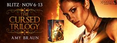 RELEASE BLITZ & #GIVEAWAY - Cursed Trilogy boxed set by Amy Braun - @amybraunauthor, @XpressoTours, #Adult, #Fantasy, #Urban - November