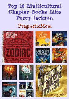 Top 10 Multicultural/Diversity/Inclusive Chapter Books Like Percy Jackson :: PragmaticMom
