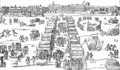 Blanket Fair (Frost Fair) of 1683/4 Google Image Result for http://www.webhistoryofengland.com/wp-content/uploads/2010/01/FrostFair1684-300x177.jpg