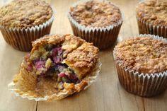 Raspberry+Oatmeal+Cookie+Muffins
