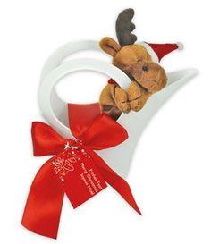 Ein Elch zu Weihnachten... Teddy Bear, Company Logo, Moose, Magnets, Weihnachten, Teddybear