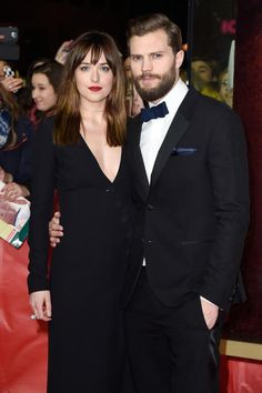 Dakota and Jamie At the Red Carpet Premiere  Fifty Shades Of Grey in Berlin.  2/11/2015