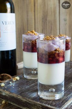 Cocina – Recetas y Consejos Desserts In A Glass, Cookie Desserts, Dessert Recipes, Queso Manchego, Queso Feta, Healthy Snaks, Spanish Dishes, Finger Food Appetizers, Mini Foods