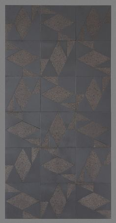 New from Made a Mano. Geometric patterns on 300x300 mm lavastone. From the Cubo range.