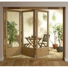 Trifold Exterior Door