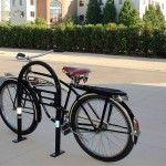 Modern Bike U-Rack