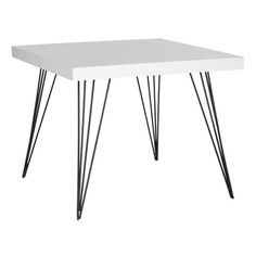 This Table Seems Like It 39 S Floating On Air The Safavieh Wolcott