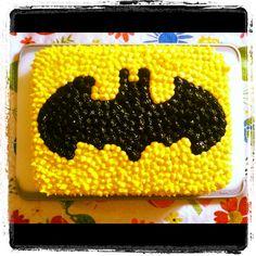 Batman cake - easy option