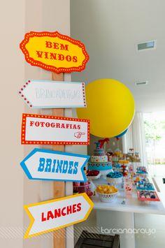 Festa - Circo www.tarcianaaraujo.com.br
