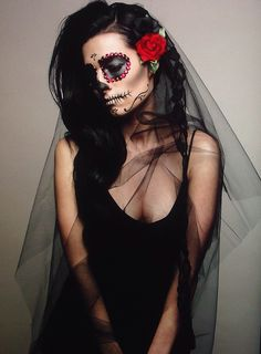 Day of the Dead. Sugar Skull Bride. Carson Drake Creative imagery/direction
