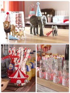 Dekoration Zirkusparty www.pickposh.de