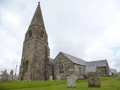 ST CUBERT   St Cubert's Church (April 2016)   Cornwall (pic. Cam Longmuir)     ✫ღ⊰n