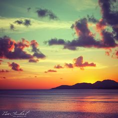 """""""Sunset in Puerto Rico"""" by Isac Goulart.........Vieques Island, Puerto Rico"""
