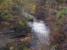 Big Clifty at Clifty Falls State Park, Madison, Indiana