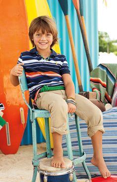 Make a splash in this summer's brightest styles from Ralph Lauren Childrenswear