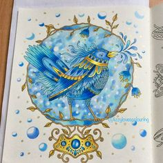 Herald of Spring from #tidevarv by @hannakarlzon Used #polychromos & #signo Swipe for stages #colouring #coloring #colouringbook #coloringbook #adultcolouring #adultcoloring #arttherapy #arte_e_colorir #artecomoterapia #divasdasartes #instart #instacoloring #colorindooinstagram #majesticcoloring #fang_colourful_world999 #bayan_boyan #adultcoloringforum #coloring_secrets #coloring_repost #coloringmasterpiece #beautifulcoloring