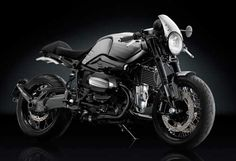 BMW R nineT Cafe Racer a beautiful Custom BMW Cafe Racer by Rizoma. Motorcycle accessories maker Rizoma has Custom built this BMW R nineT Cafe Racer to show . Bmw R Ninet Scrambler, Scrambler Custom, Scrambler Motorcycle, Bmw Motorcycles, Motorcycle Style, Custom Motorcycles, Motorcycle Garage, Custom Bikes, Enfield Motorcycle