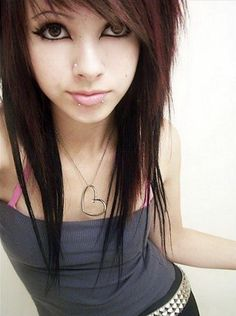 Emo Hairstyles Classy Emo Hairstyles 29  Pretty Girly Stuff  Pinterest  Emo Hairstyles