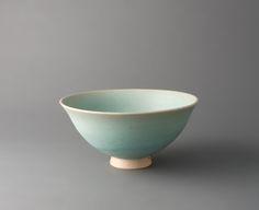 YOUNG JAE LEE Flaring Bowl, Blue Celadon, Stoneware