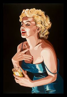 Buyartforless Chanel No. 5 by Karl Black Art Print Poster Wall Decor Marilyn Monroe Vintage Poster City Hollywood Collectable Memorabilia Marilyn Chanel Arte Marilyn Monroe, Marilyn Monroe Drawing, Marilyn Monroe Artwork, Painting Prints, Canvas Prints, Art Prints, Black Painting, Cinema Tv, Poster City