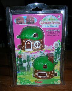 Sylvanian Families RARE Vintage Little World Mole House Still Boxed SEALED   eBay