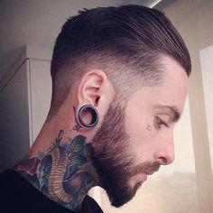 Boys Face Piercing Looks That Will Turn Heads Men's Piercings, Piercing Tattoo, Tattoo Ink, Barber Haircuts, Haircuts For Men, Men's Haircuts, Greaser Hair, Greaser Style, Legs