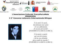 """2° Concorso Internazionale Bilingue """"TraccePerLaMeta"""" - 2do Concurso Literario Internacional Bilingüe """"TraccePerLaMeta"""" - Scadenza 30 novembre 2014."""